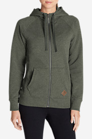 Green Tops for Women: Women's Pilchuck Full-Zip Hoodie