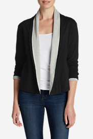 Cotton Sweaters for Women: Women's Lookout Double-Layer Cardigan