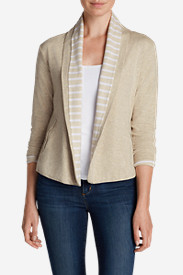 Cardigan Sweaters for Women: Women's Lookout Double-Layer Cardigan