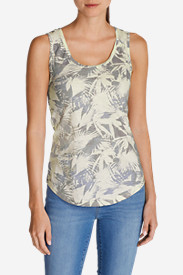 Women's Essential Slub Tank Top - Print