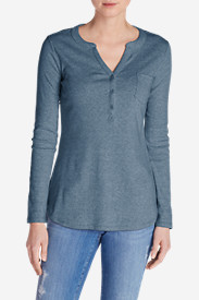 Women's Favorite Long-Sleeve Henley