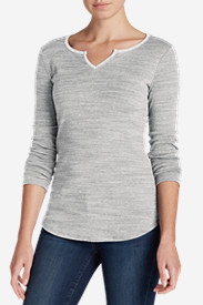 Women's Favorite Notch Neck Long-Sleeve T-Shirt