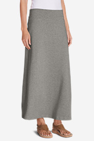 Spandex Skirts for Women: Women's Kona Maxi Skirt - Solid