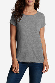 Women's Pima Pocket T-Shirt - Solid