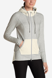 Comfortable Tops for Women: Women's Summit Full-Zip Hoodie