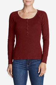 Women's Lookout Long-Sleeve Thermal Henley Shirt