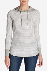 Plus Size Hoodies for Women: Women's Favorite Pullover Hoodie - Stripe