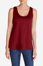 Women's Everyday Jersey Keyhole Tank Top