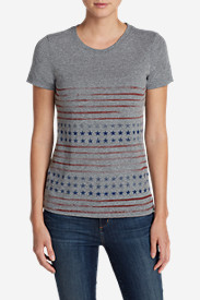 Women's Graphic Tri-Blend T-Shirt - Stars And Stripes