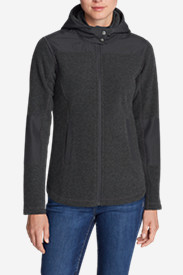 Women's Forest Ridge Bouclé Fleece Full-Zip Hoodie