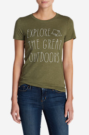 Women's Explore The Great Outdoors Triblend T-Shirt