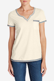 Women's Daybreak Embroidered Short-Sleeve T-Shirt