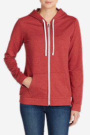 Insulated Tops for Women: Women's Camp Fleece Full-Zip Hoodie