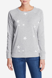 Women's Legend Wash Americana Stars Sweatshirt