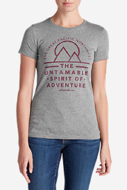 Comfortable Tops for Women: Women's Graphic T-Shirt - The Great Pacific Northwest