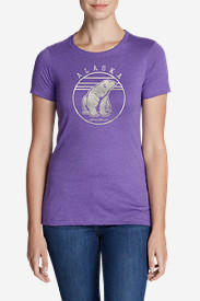 Women's Graphic T-Shirt - Polar Bear