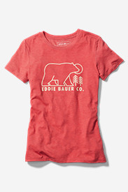 Women's Graphic T-Shirt - Eddie Bauer Co. - Bear