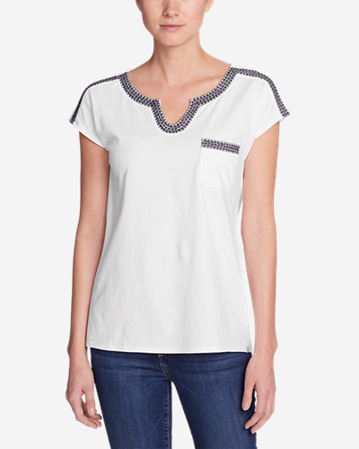 Women's Rosario Beach Pocket T Shirt by Eddie Bauer