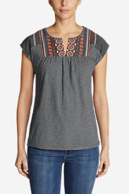 Women's Laurel Canyon Embroidered T-Shirt