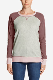 Women's Legend Wash Colorblocked Crewneck Sweatshirt