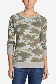 Women's Legend Wash Sweatshirt - Allover Print