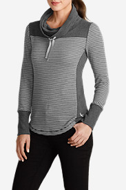 Women's Stine's Favorite Waffle Funnel-Neck Pullover