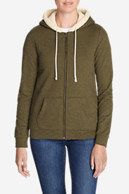 Women's Camp Fleece Sherpa Hoodie