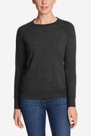 Women's Camp Fleece Long-Sleeve Crewneck Pullover