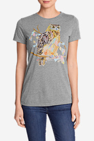 Women's Graphic T-Shirt - Owl