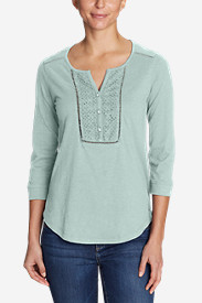 Women's Lola ¾-Sleeve Henley Shirt