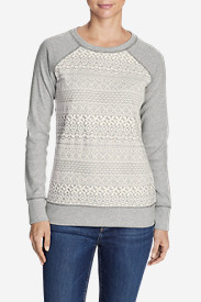 Women's Legend Wash Crochet Sweatshirt