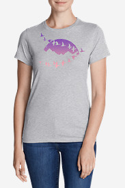 Women's Graphic T-Shirt - Flying Geese