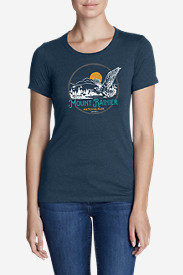 Women's Graphic T-Shirt - Mount Rainier