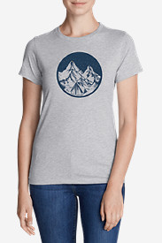 Women's Graphic T-Shirt - Camp Under The Stars