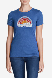 Women's Graphic T-Shirt - Mt. St. Helens