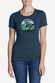 Women's Graphic T-Shirt - Yosemite Rules