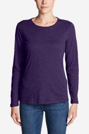 Women's Legend Wash Slub Long-Sleeve Crew