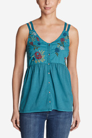 Women's Mountain Meadow Cami - Embroidered