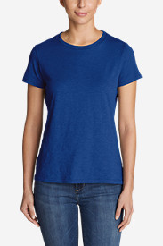 Women's Essential Slub Short-Sleeve Crew T-Shirt - New