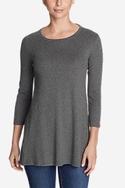 Women's Favorite 3/4-Sleeve Tunic T-Shirt