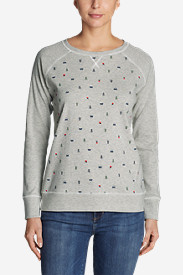 Women's Legend Wash Crew Sweatshirt - Campfire