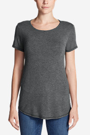Women's Celestial Short-Sleeve Crewneck - Solid
