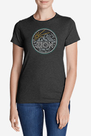 Women's Graphic T-Shirt - Zion National Park
