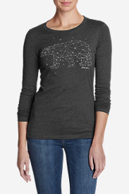 Women's Graphic Long-Sleeve T-Shirt - Bear Constellation