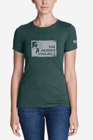 Women's Graphic T-Shirt - The Heroes Project