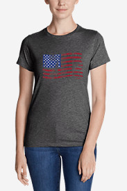 Women's Graphic T-Shirt - Classic Flag