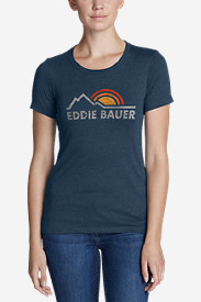Women's Graphic T-Shirt - Vintage EB Logo