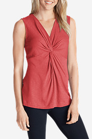 Women's Girl On The Go® Sleeveless Twist V-Neck Top