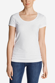 White Tees for Women: Women's Lookout Short-Sleeve T-Shirt - Solid