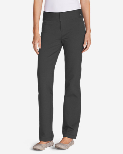 Gray Dress Pants for Women: Women's Passenger Ponte Pants